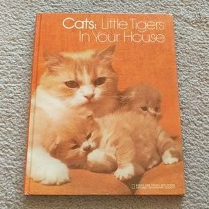 Vintage Cats Little Tigers in Your House Book 1974